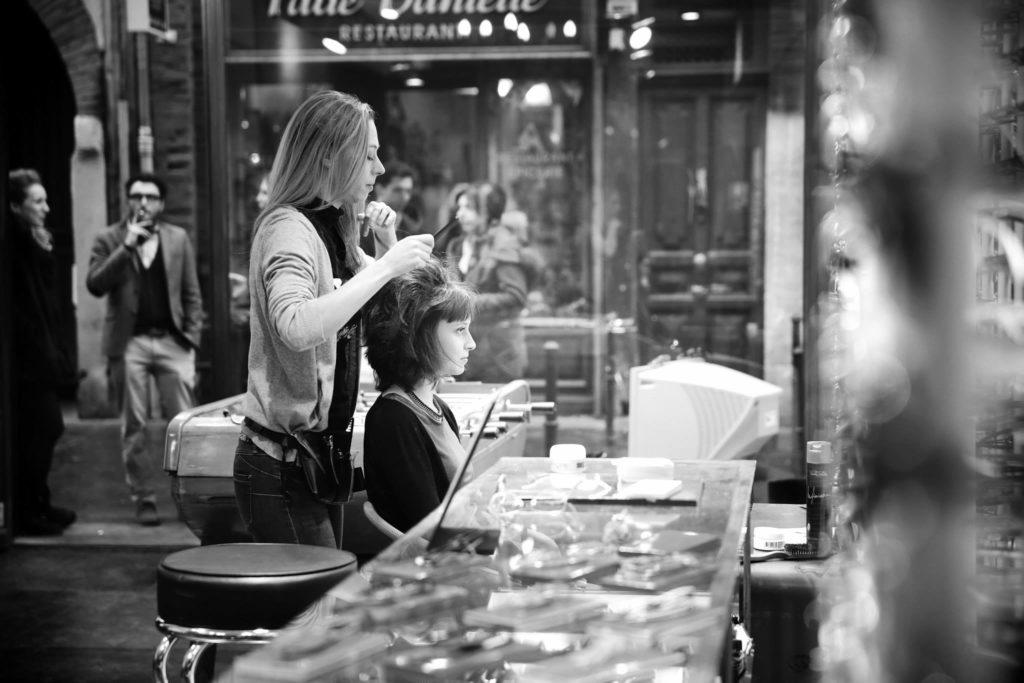 Coiffure événement professionnel, bar à coiffure
